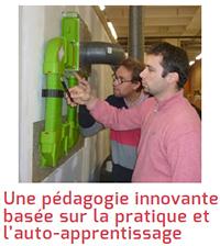 Une pédagogie innovante basée sur la pratique et l'auto-apprentissage
